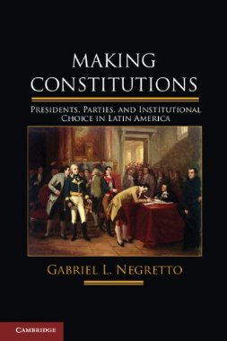 Portada del libro Making Constitutions